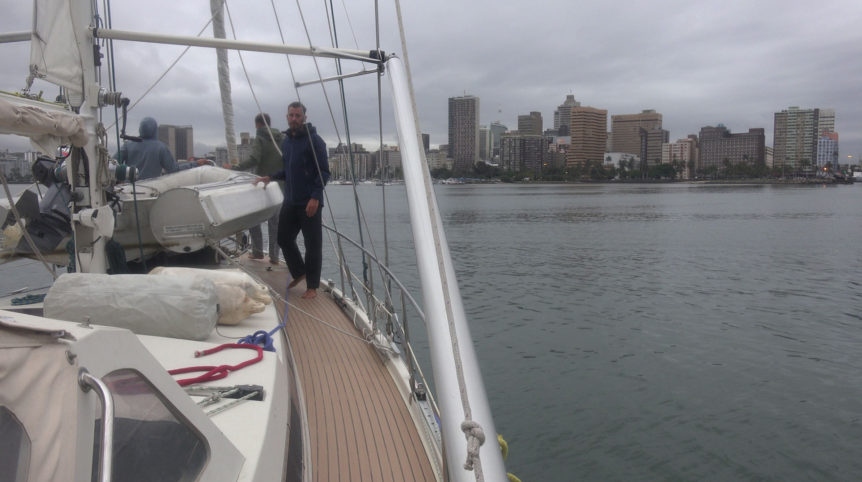 durban south africa by sailboat
