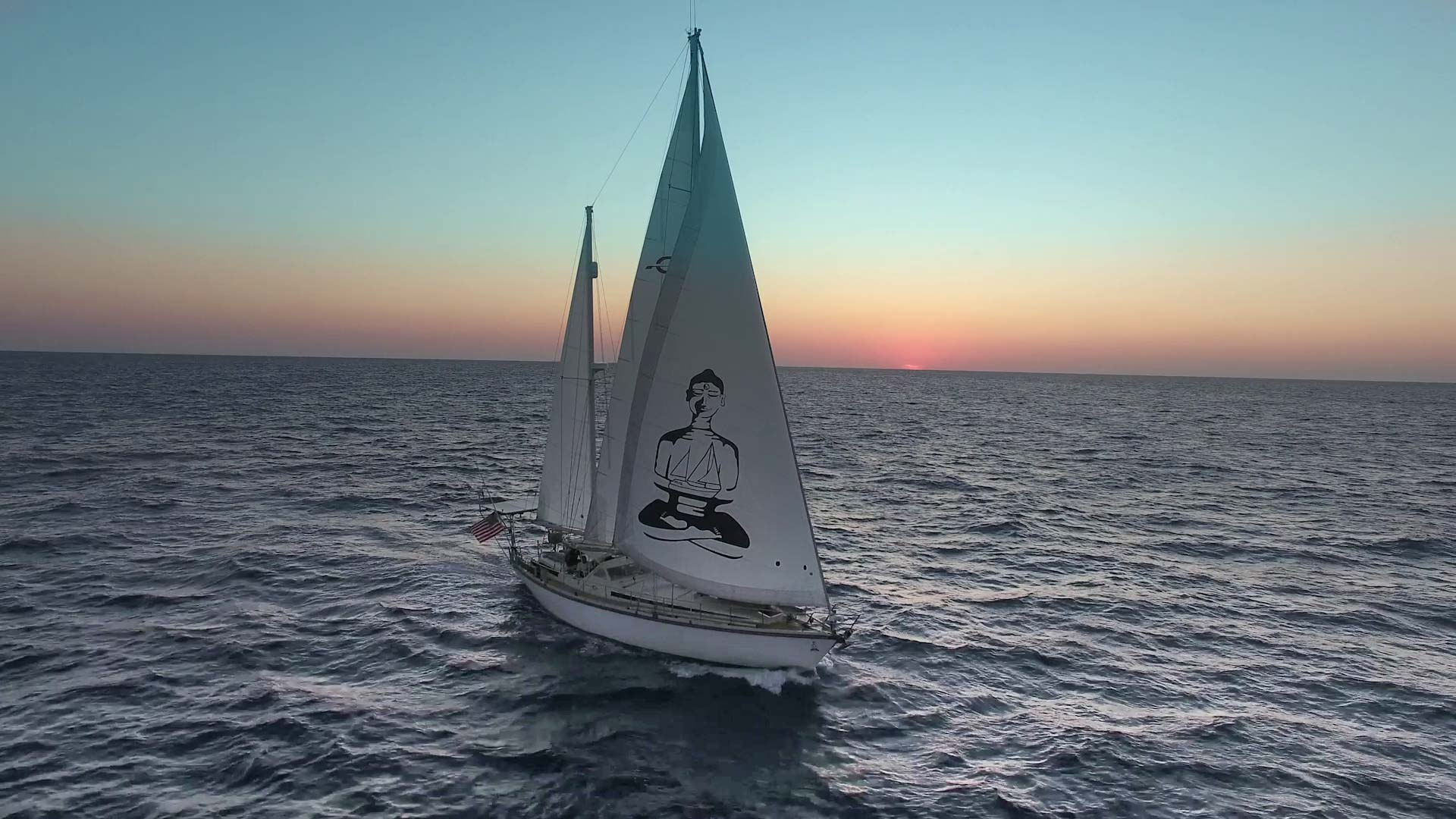Delos-Sailing-From-Drone