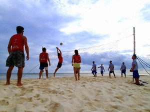 circumnavigating the world adventures playing volleyball