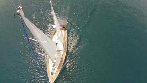 sailing drone photos