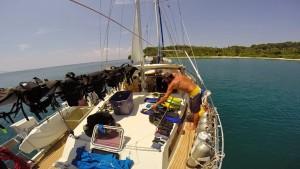 liveaboard maintenance scuba gear