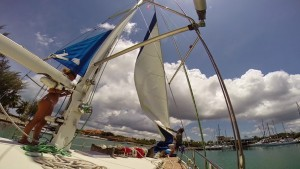 sailing indonesia blue water cruising