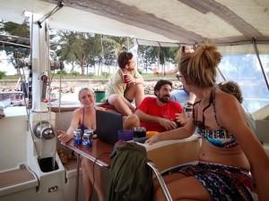 traveling kudat sailing blog sv delos