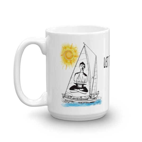 Let the Sea Set You Free  – Mug