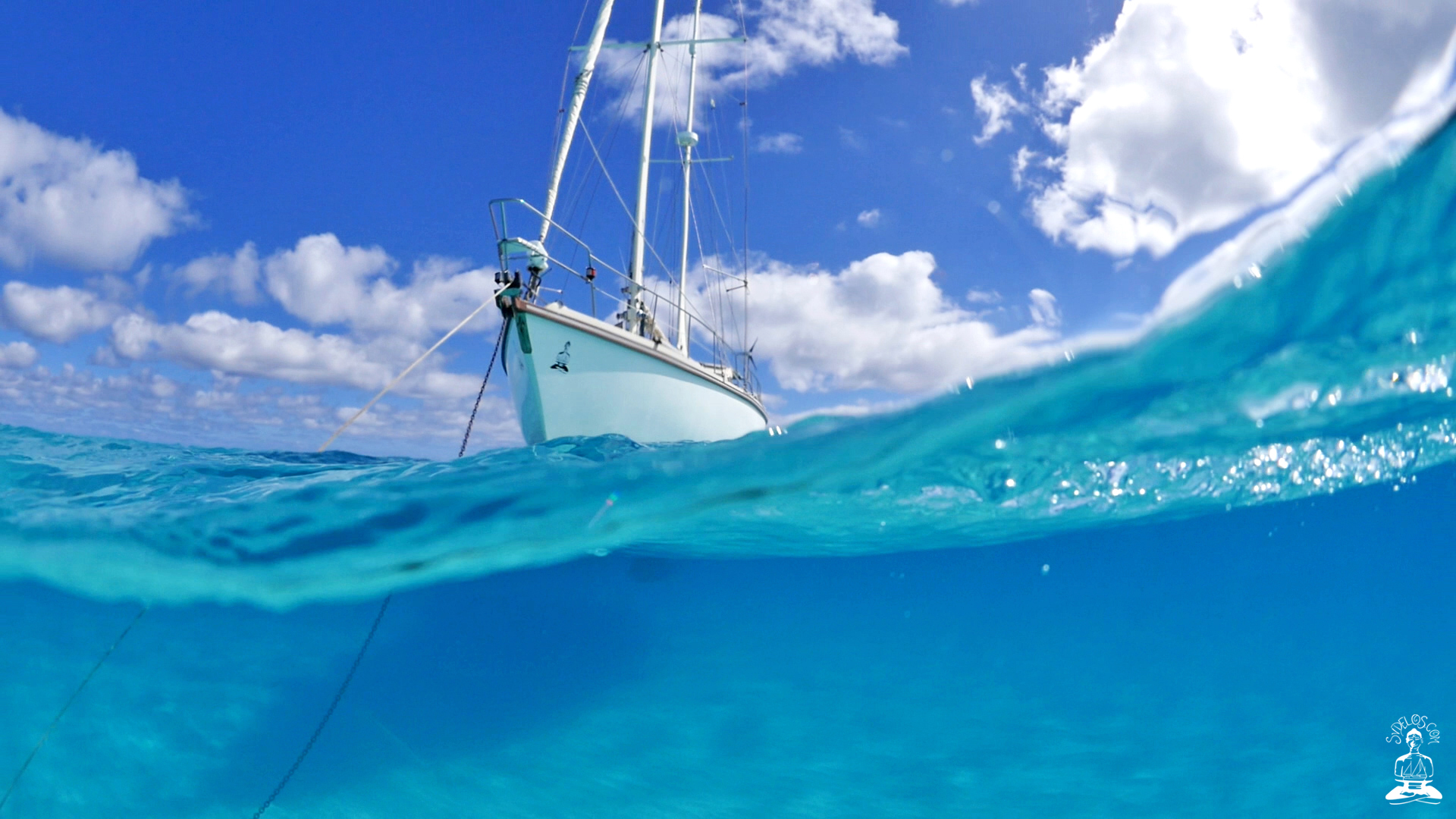 sailboat desktop backgrounds tropical water free