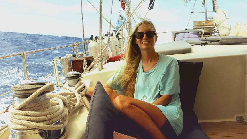 sailing to chagos karin sv delos