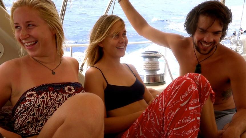 passage to cocos sailing delos crew