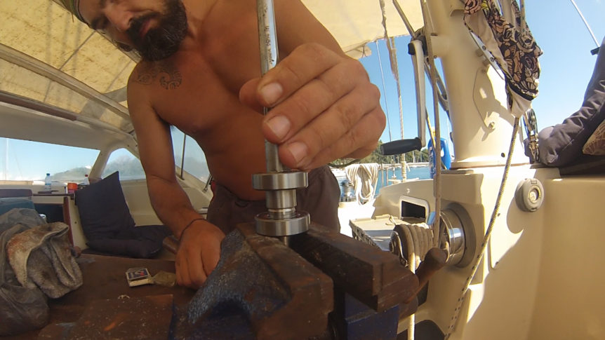 sailboat maintenance remote locations liveaboard