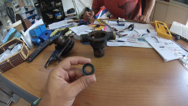 repairing water pump amel super maramu 1