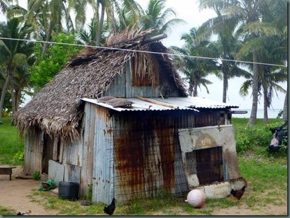 navisi village cooking hut travelling