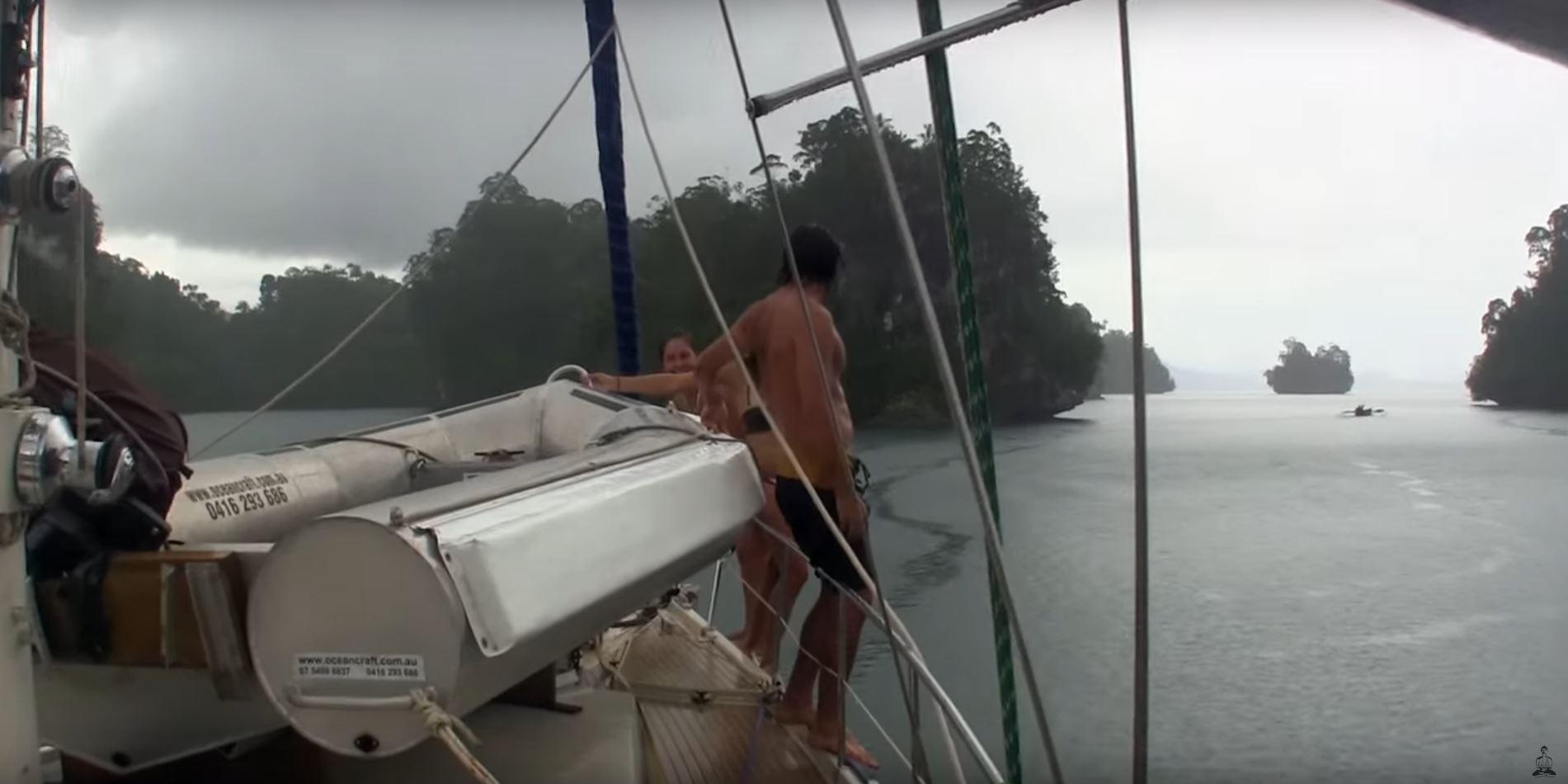 raja ampat spearfishing sailing diving