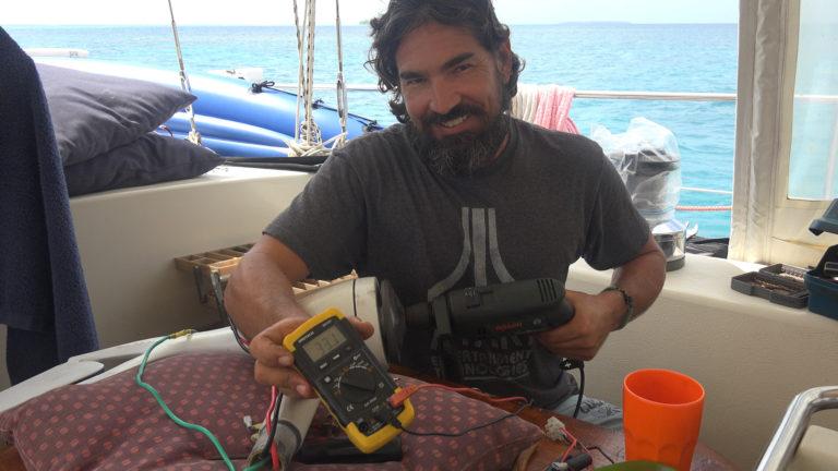 rebuilding voltage regulator sailboat