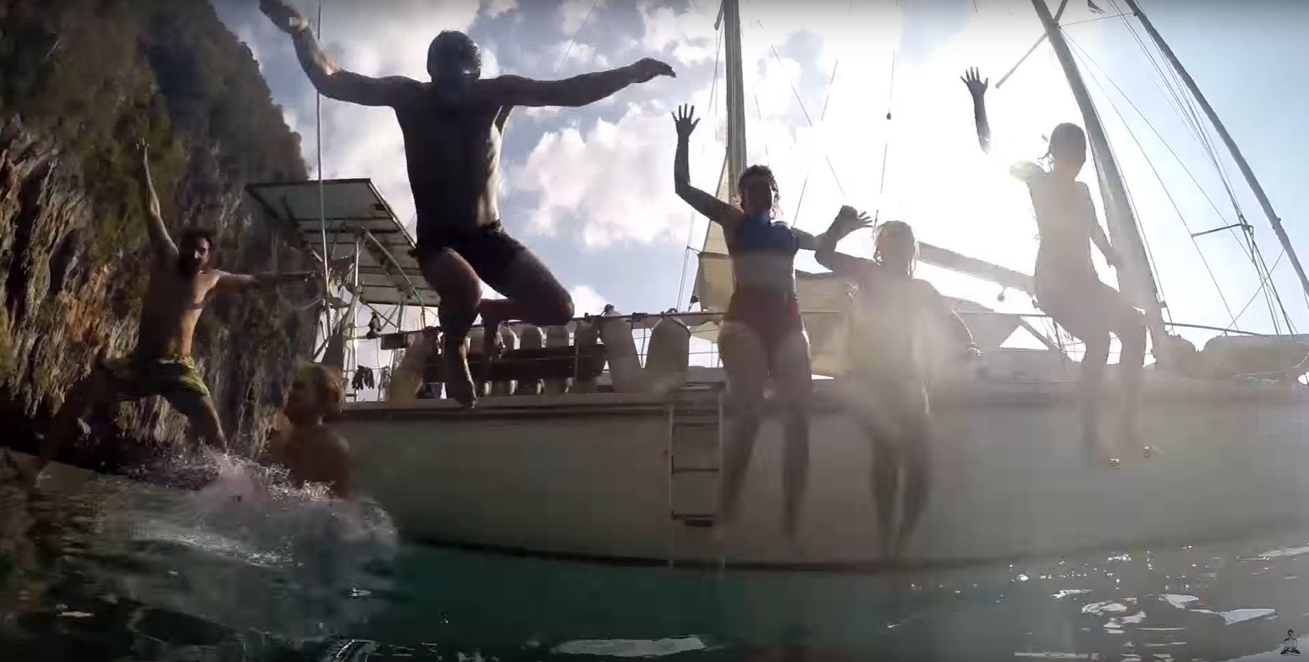 phuket island hopping paradise sailboat