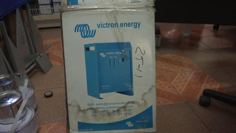 victron generator maintenance nosy be