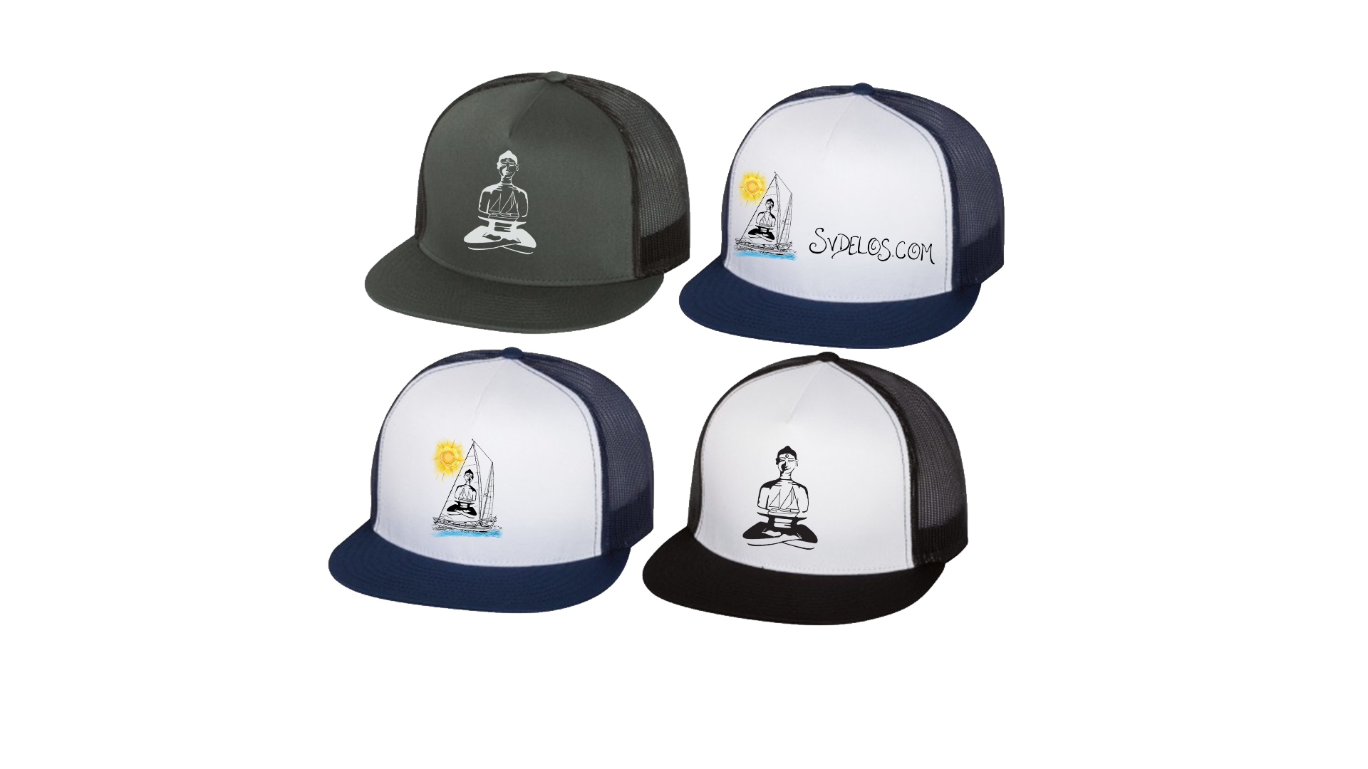 Delos Adjustable Trucker Hats!