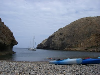 remote beach santa cruz island
