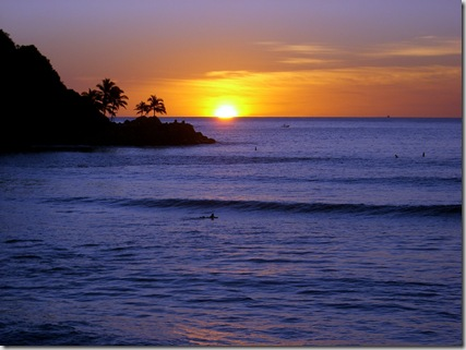 barra de navidad sunset
