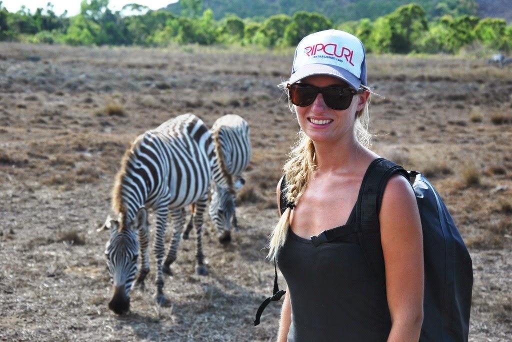 travel vlog exploring Calauit Safari park