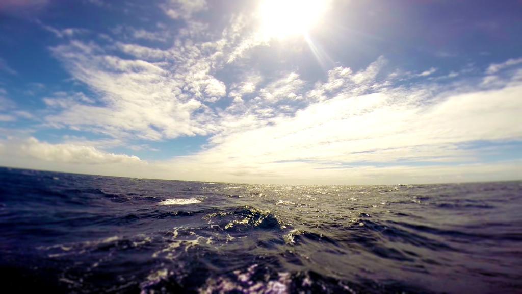 blue water sailing open ocean