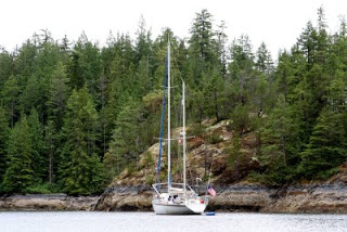 Harmony Islands preparing to circumnavigate