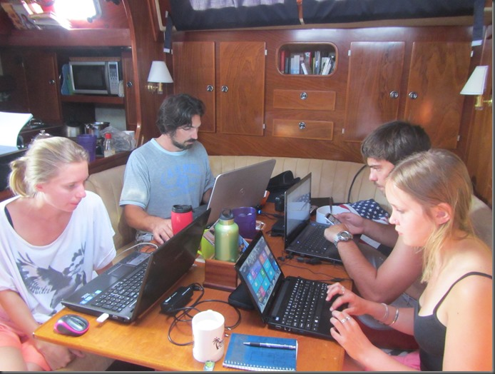 how we afford to sail working on a boat