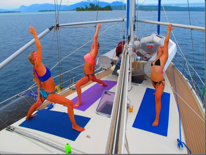 bikini sailing adventures