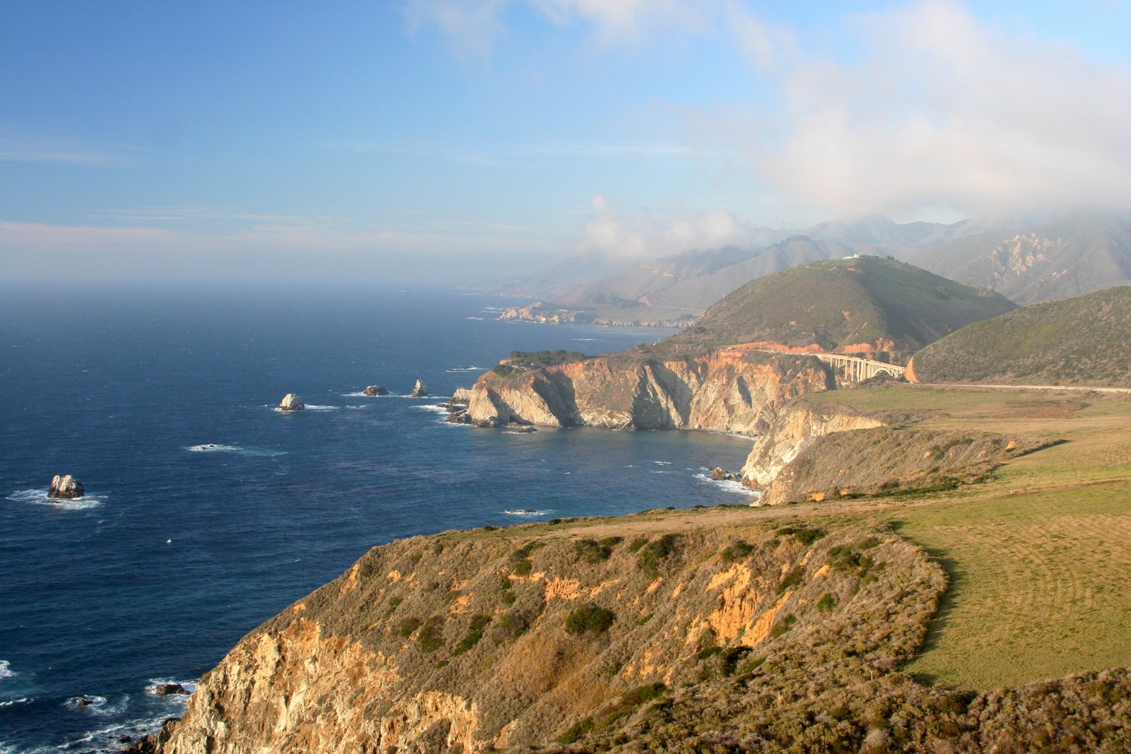 ocean view cliffs