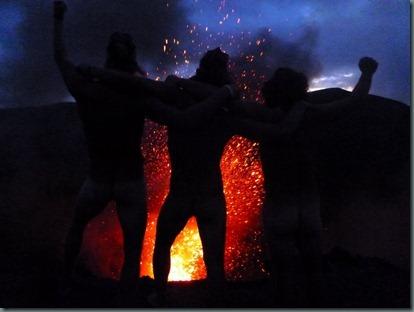 Mt. Yasur tanna volcano travelling blog