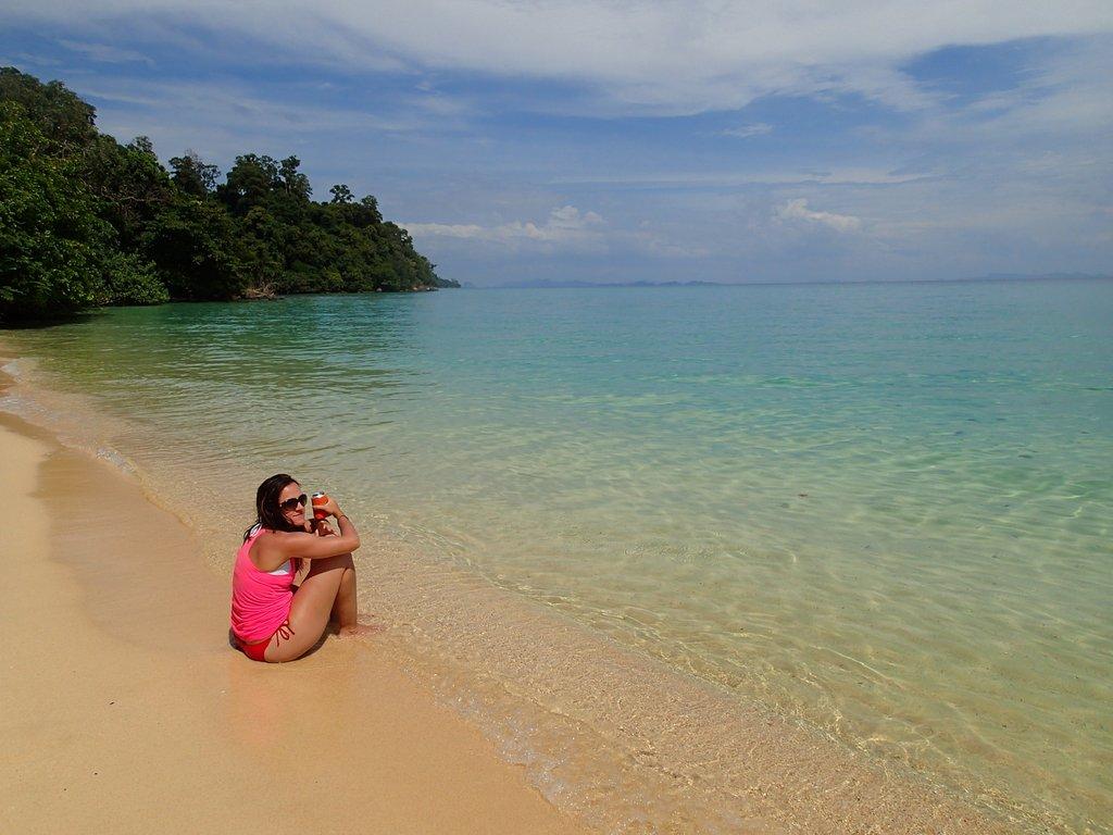 remote thailand beaches sailing sv delos cruising