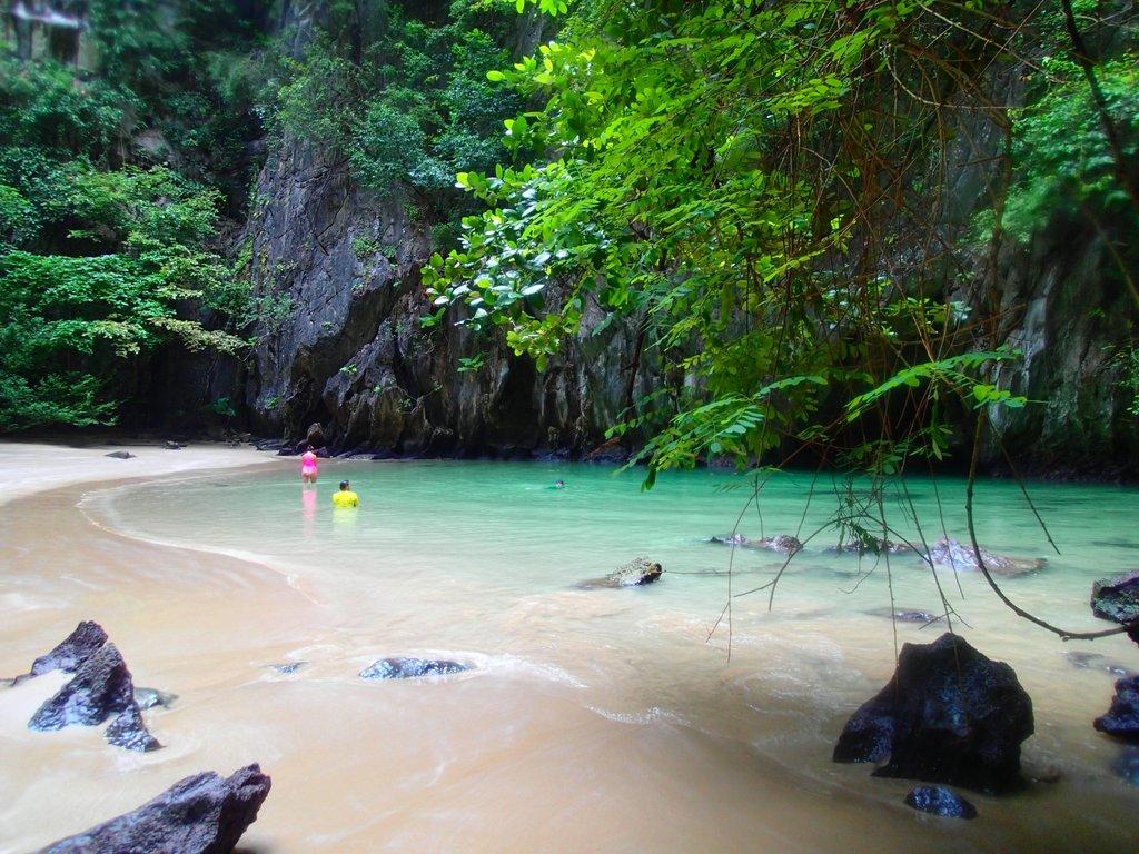 private beach thailand sailing sv delos