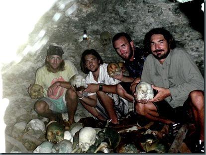 finding cannibal human remains vanuatu