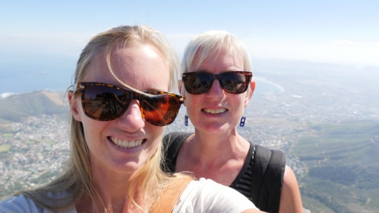 hiking table mountain cape town