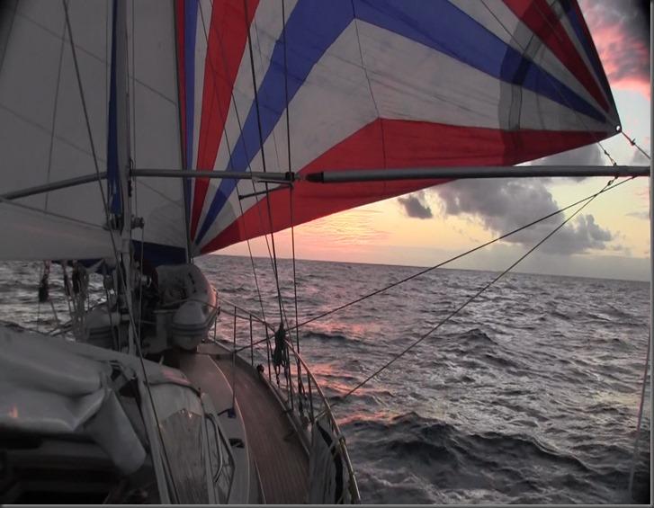 sailing downwind across oceans
