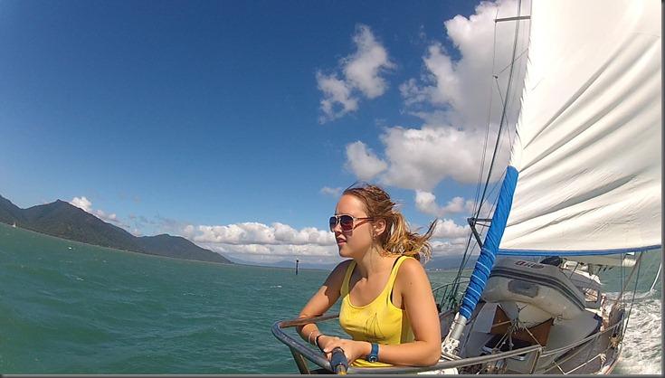 sailing away from austrailia