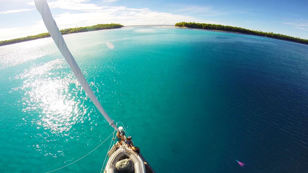 remote deserted tropical island chagos