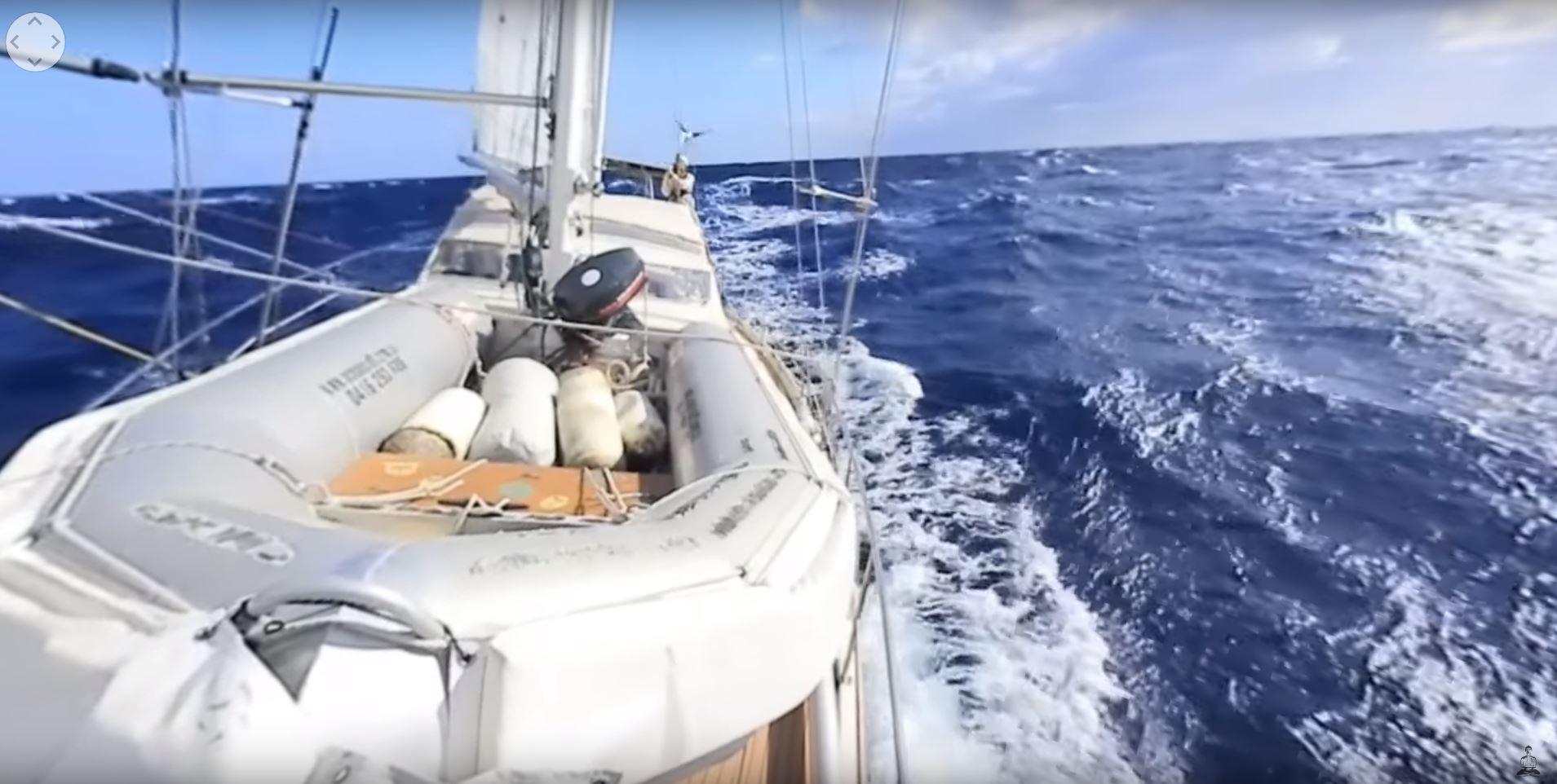 sailing in 360 4k video