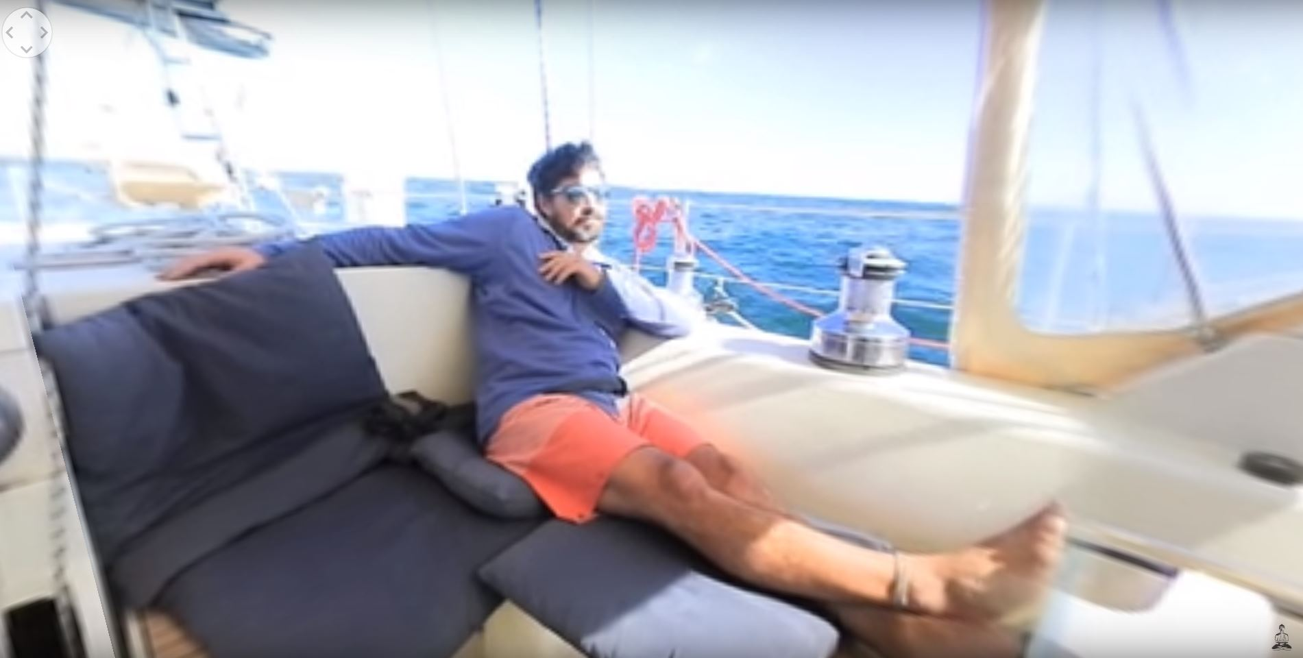 sailing in 360 vr cape town