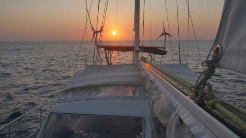 sailing mozambique channel south africa