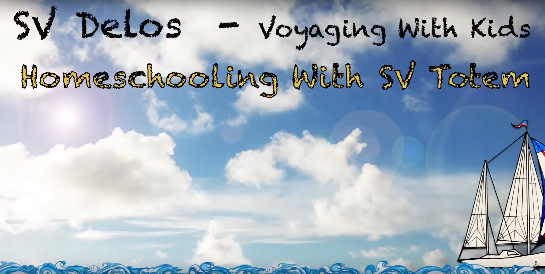 sailing the world with kids homeschooling