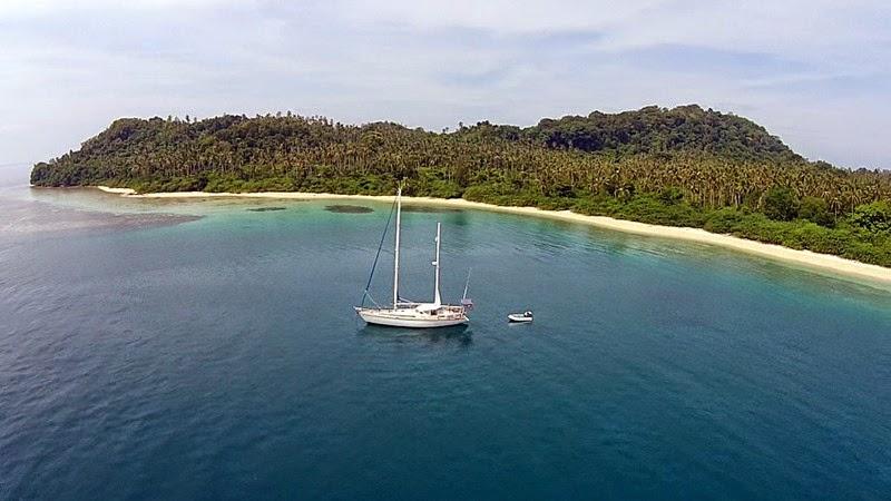 sv delos sailing around the world