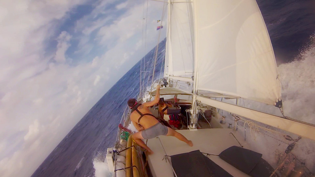 heavy weather sailing indian ocean cocos keeling