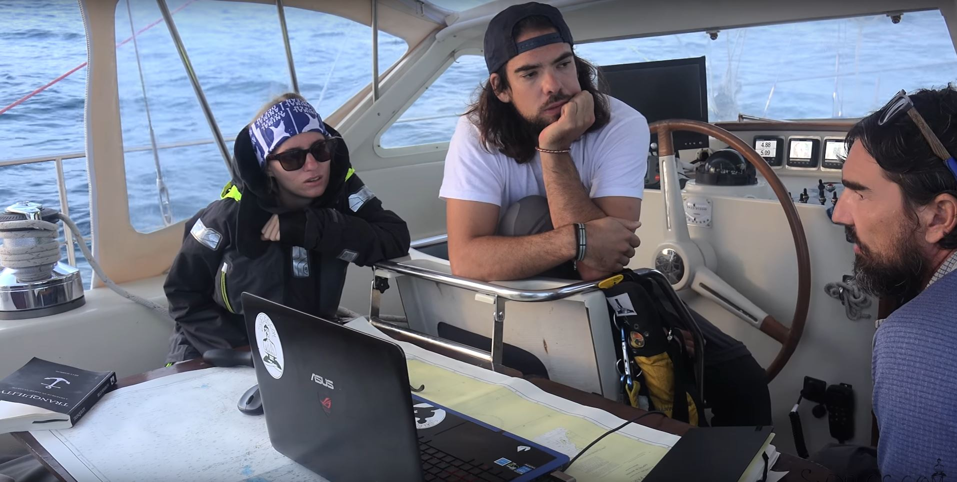 planning route across ocean on sailboat