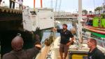 Installing our new Onan 8KW Generator- Full Cut!!!  Sailing Vessel Delos