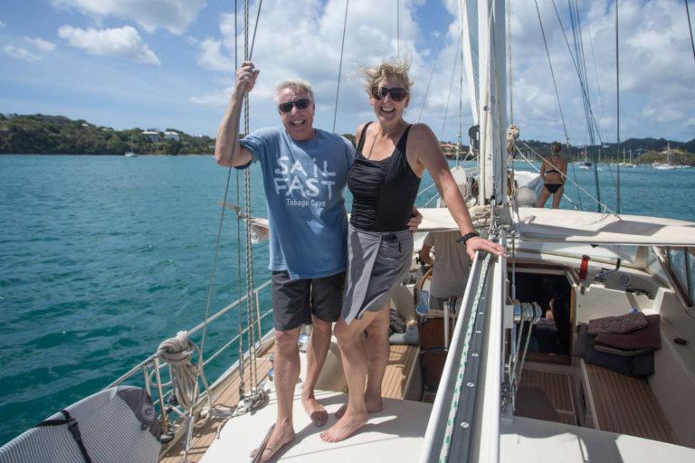 Sailing Around The World On A Sailboat - Sailing SV Delos