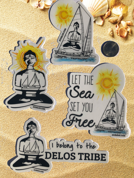 NEW!!! Delos Sticker Packs