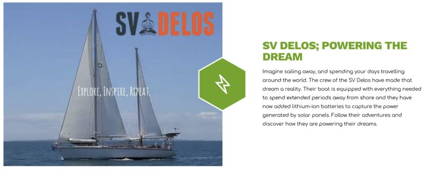 Installing Lithium Batteries on a Sailboat - SV Delos