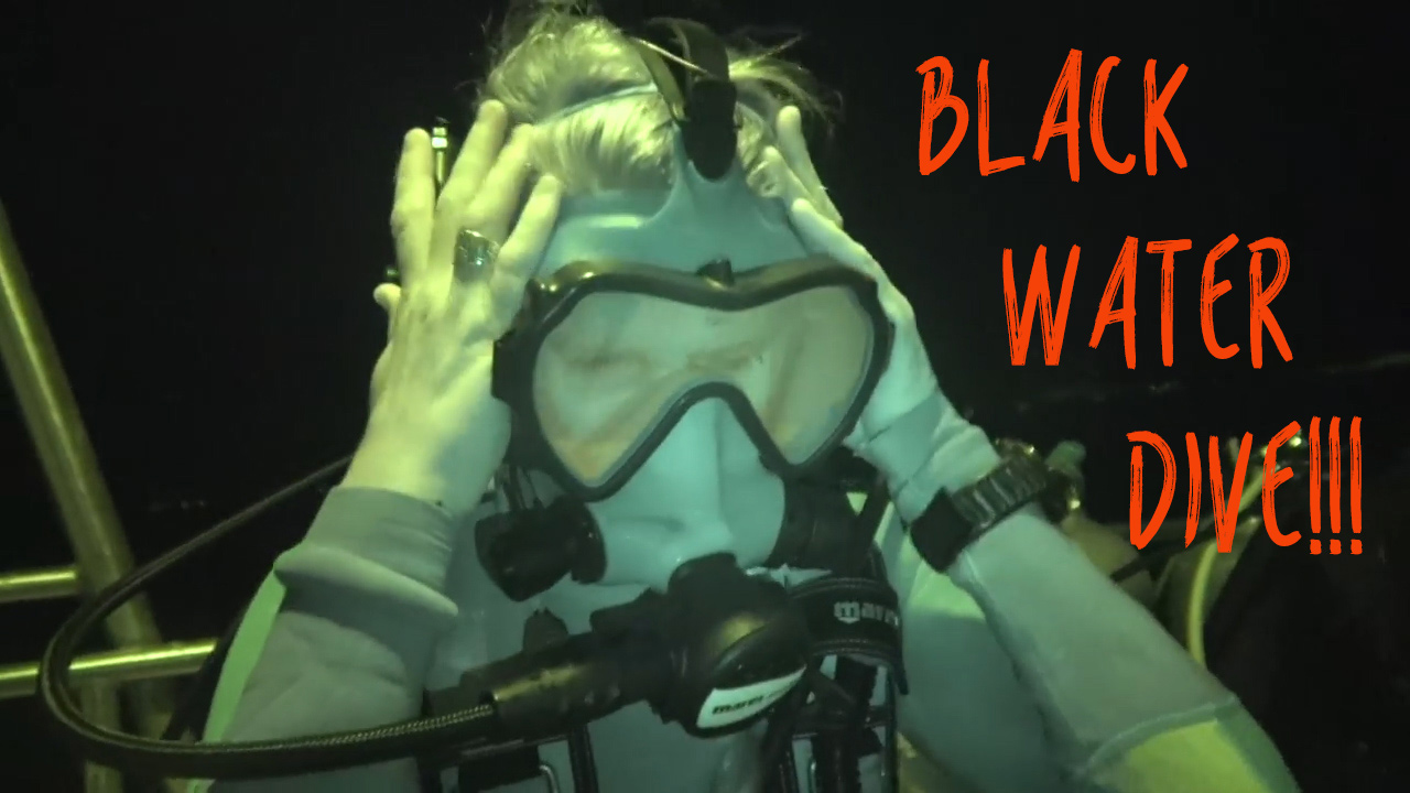 SCARIEST Dive Yet - Midnight ocean SCUBA in 5,000 ft of water! Sailing Vessel Delos Ep....