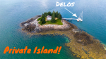 Our very own PRIVATE ISLAND in Maine!  Sailing Vessel Delos Ep. 295