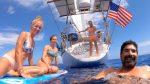 SHARK BAIT HOO HA HA!  The Perfect Day at Sea (Part 2 of 6) – SV Delos Ep. 340